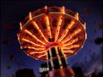 Spinning by shutterlight