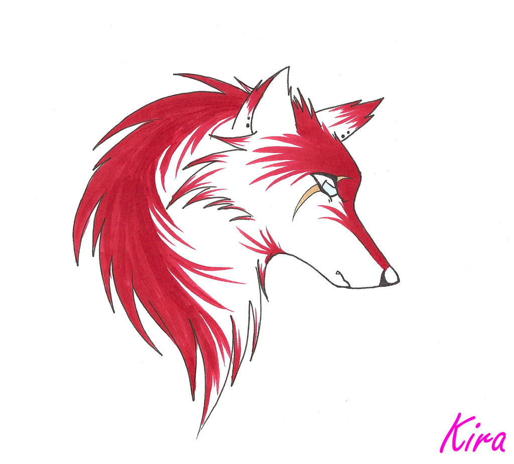 Rancid The Wolf by AnarchyWolfKira