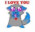 I LOVE YOU ::animated:: by AnarchyWolfKira