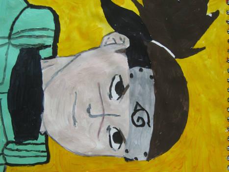 Iruka painting...