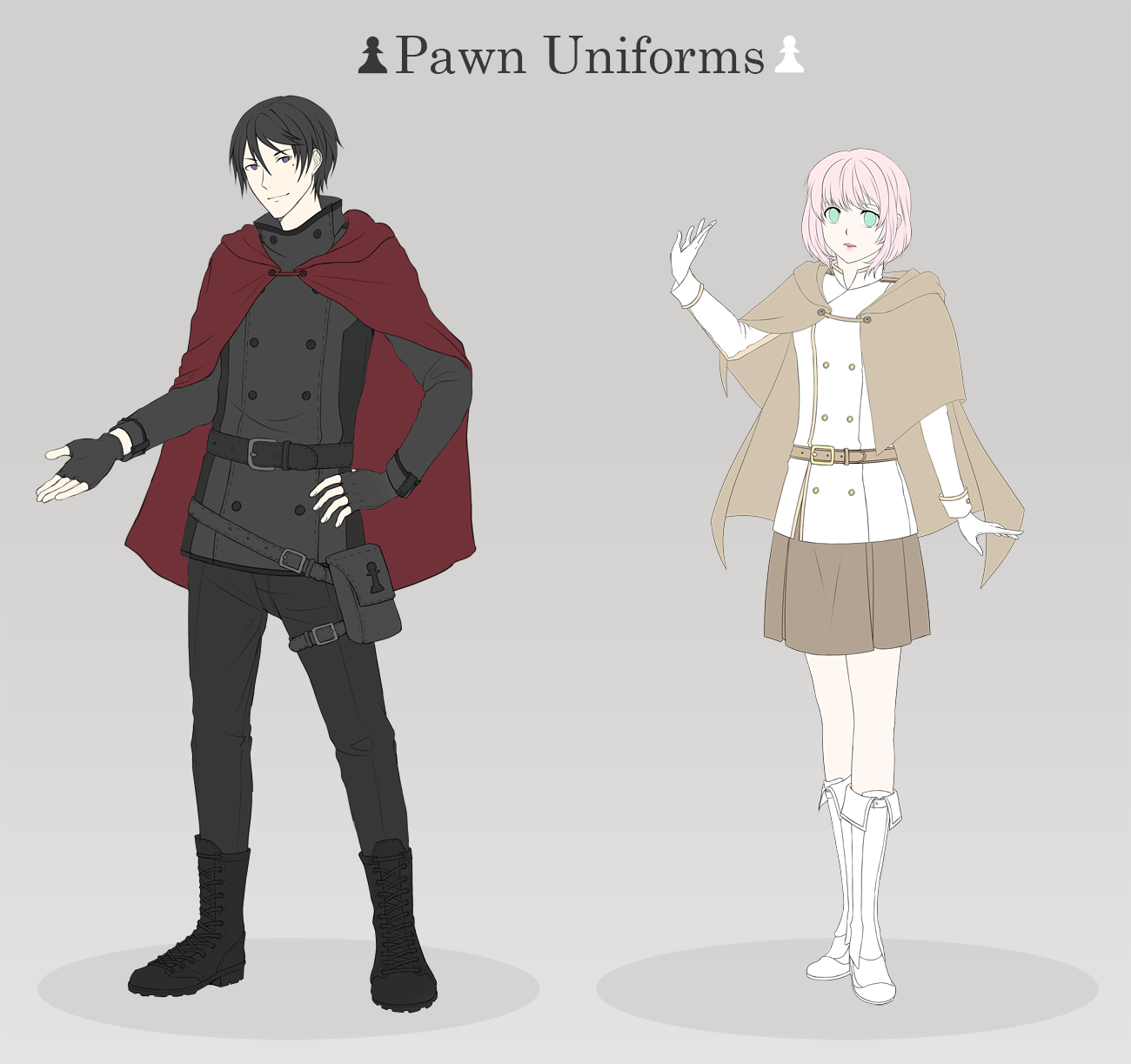 Chaos Crown: Pawn Uniforms by minjei