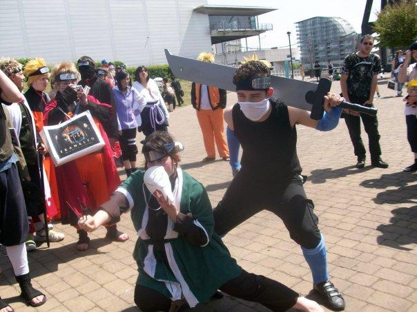zabuza and haku cosplay by captajd on deviantart