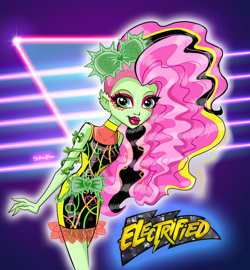 Venus Mcflytrap. ELECTRIFIED. by MoySchiaffino