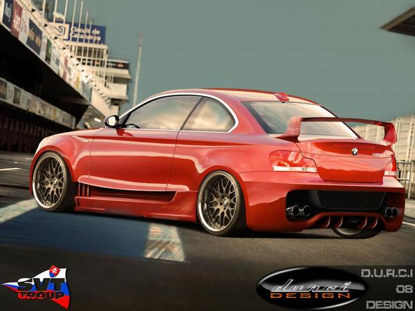 BMW 1 rear by DURCI02