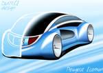 Peugeot IceMan concept - back