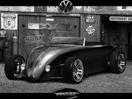 VW Beetle StreetRod_D.U.R.C.I by DURCI02