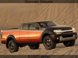 Chevrolet Colorado_front by DURCI02
