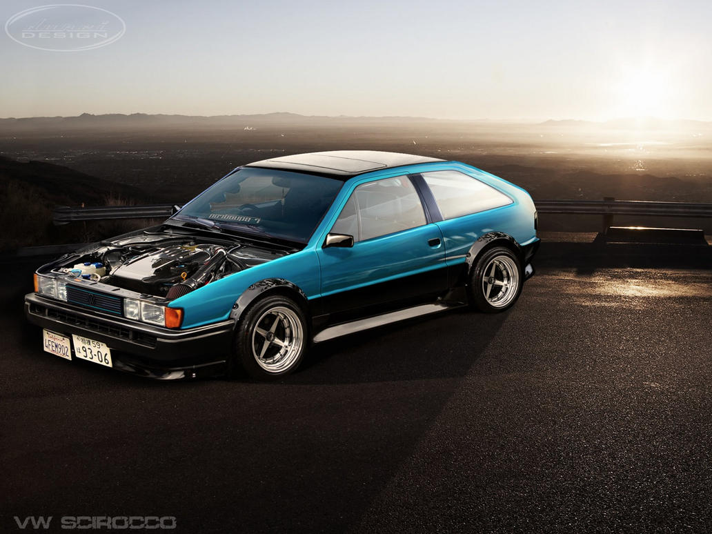 Vw Scirocco Drift Car By On Deviantart