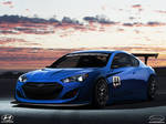 Hyundai Genesis coupe GTR_front