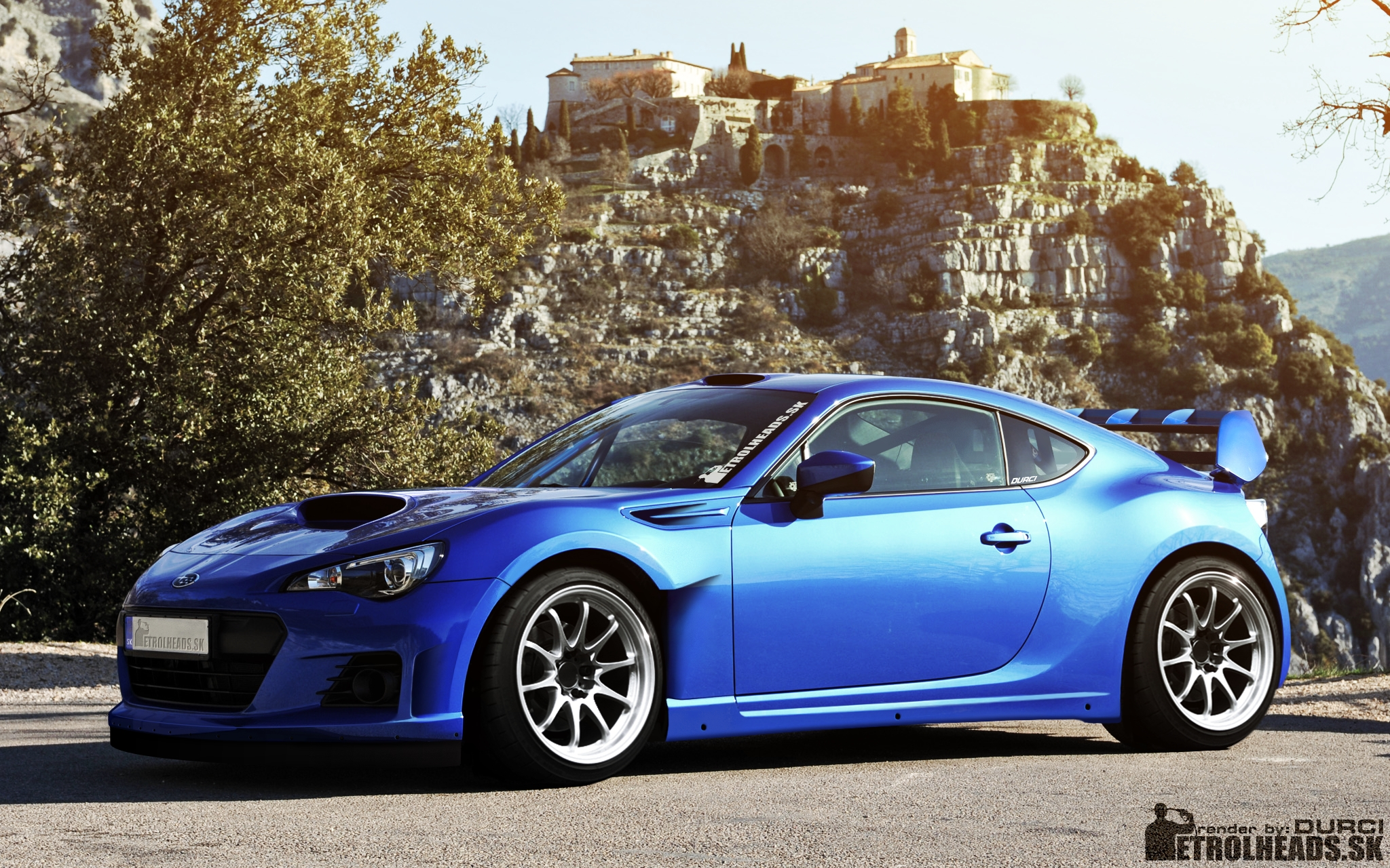 Imagine How The Brz Would Look If It Was In Wrc Scion Fr S Forum