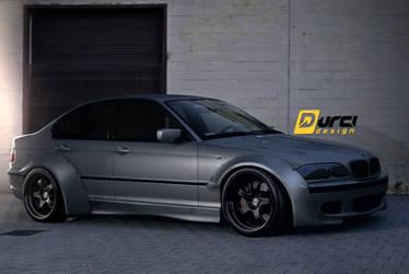 BMW E46 drift - RocketBunny