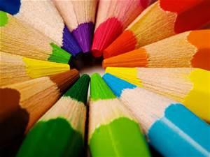 Pencil Rainbow by crescendothemusic