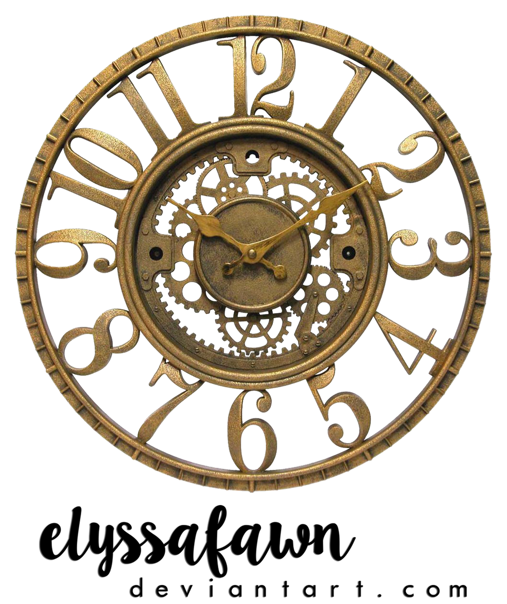 png 23 steampunk clock by elyssafawn on deviantart
