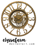 PNG (23) STEAMPUNK CLOCK