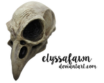 PNG (31)  CROW SKULL