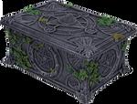 Old Pentagram Box PNG Stock