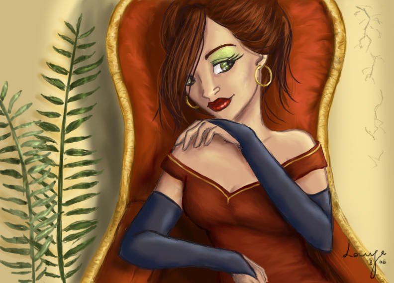 Laurissa the Rich by DryEyez