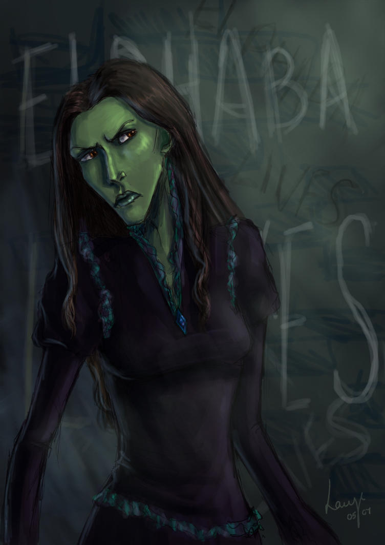 Elphaba Lives by DryEyez