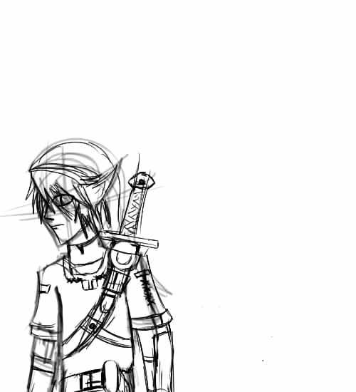 link sketch by emokid-17