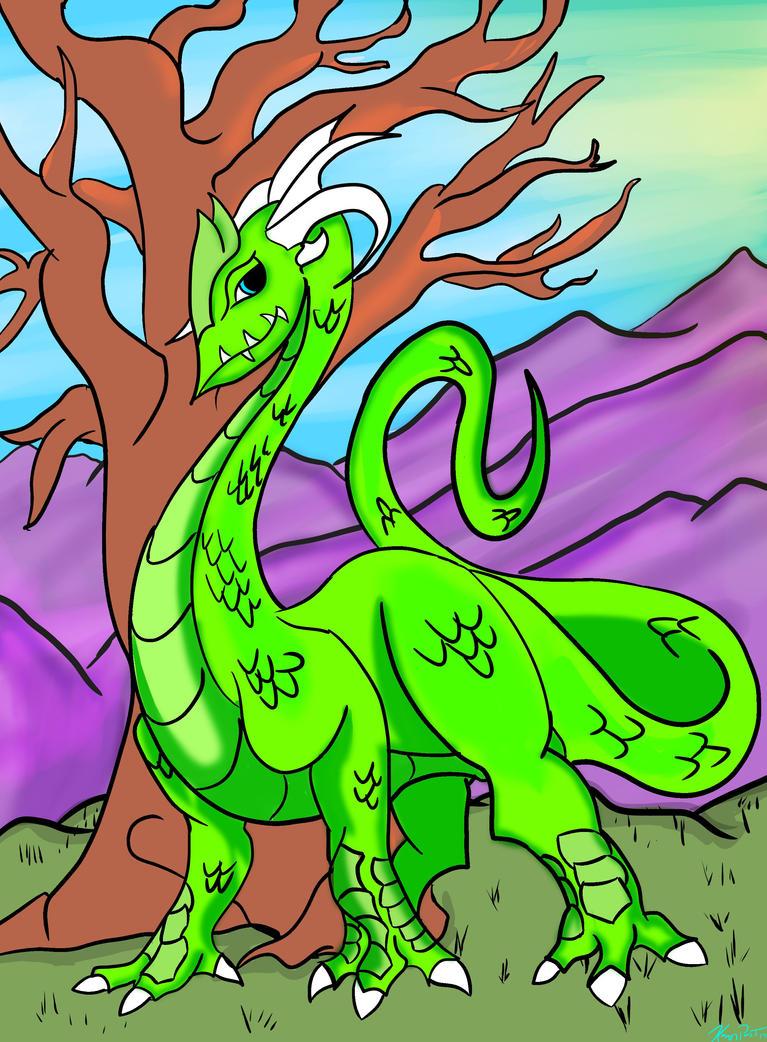 Dragon II by emokid-17