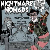 Drawlloween-2017-Day19: Nightmare Nomads