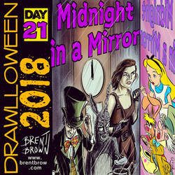Drawlloween2018-Day-21-mirror