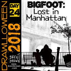 Drawlloween2018-Day-24-Bigfoot