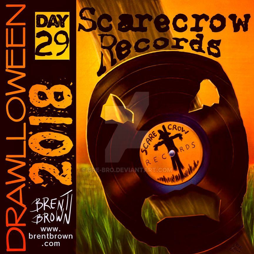 Drawlloween2018-Day-29-scarecrow by bre-bro