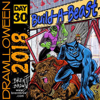 Drawlloween2018-Day-30-beast