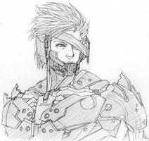 Raiden MGR sketch