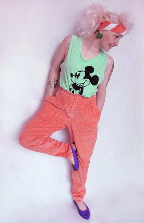 80s fashion ad by devilsrondo