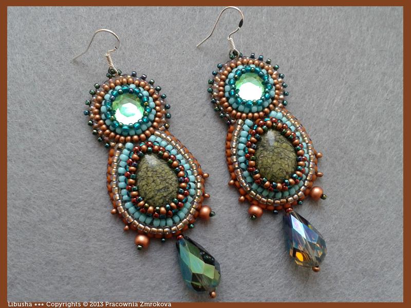 Libusha earrings by little-cruel-thing