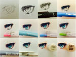 How I Draw Eyes: TUTORIAL