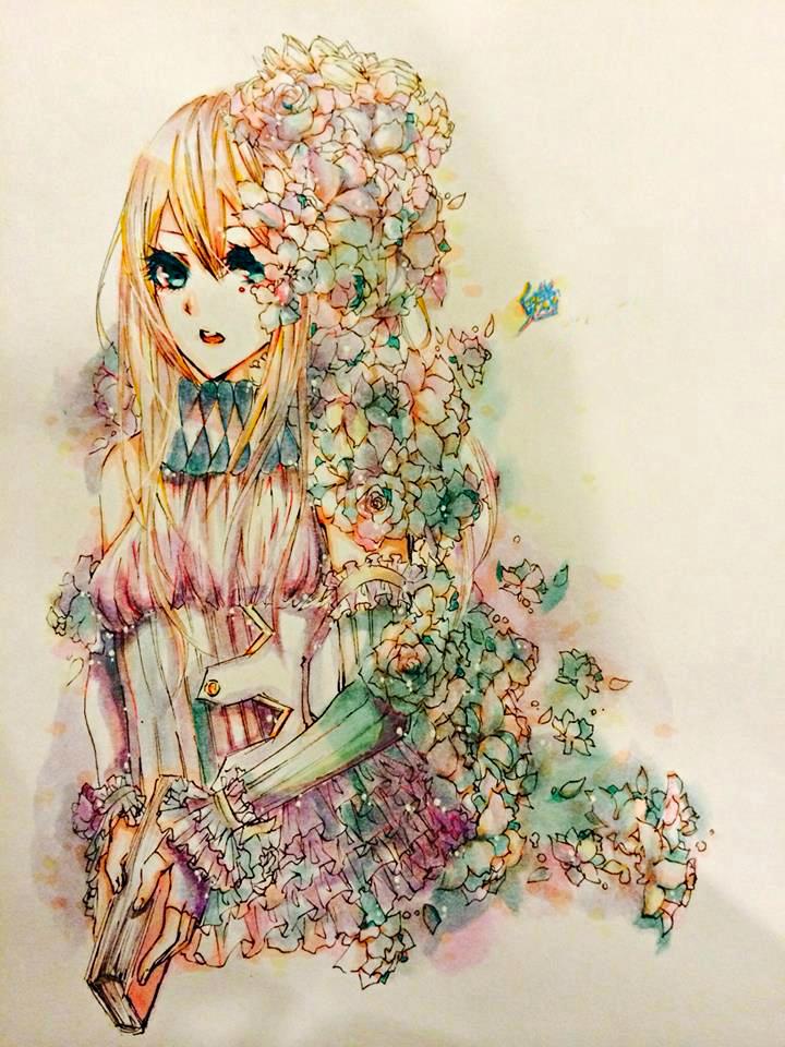 Flower Girl by Katlynchan