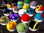 More Pokeballs