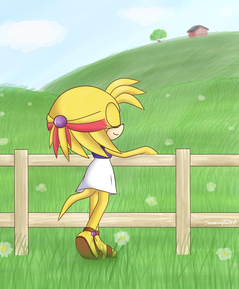 Commission: Ahhh Fresh Air~! by sonamytwist