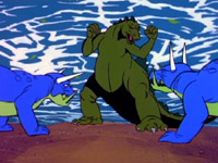 Godzilla vs. megavolt monster by Godzilla2013