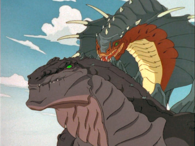 Image result for Godzilla the series King Cobra