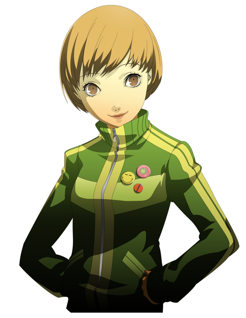 Satonaka Chie Vector by Jublypuff on DeviantArt