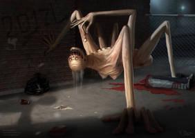 The Horror by Dagahaz