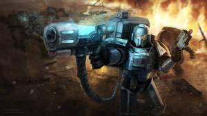 Warhammer 30k - Alpha Legion Moritat by Dagahaz