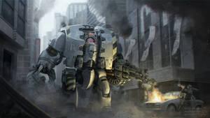Warhammer 30k - Iron Warriors Leviathan