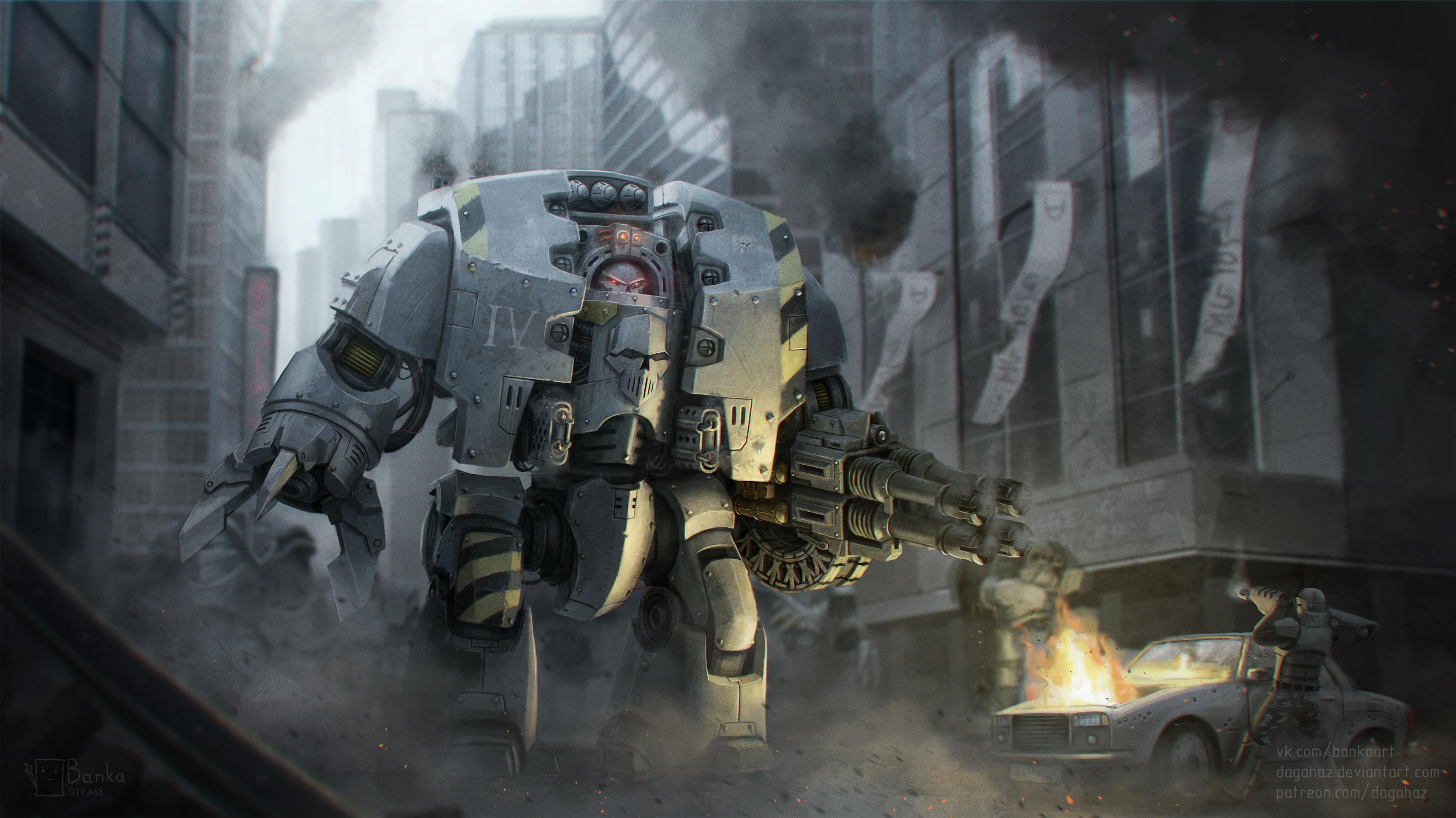 Warhammer 30k - Iron Warriors Leviathan by Dagahaz on DeviantArt