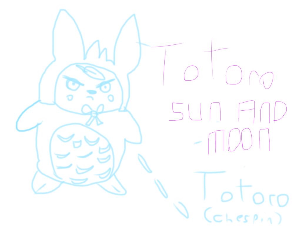 Line Art Of Sun : My neighborhood totoro pokemon sun and moon by thesinonsao on
