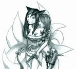 Ahri And Katarina League of legends