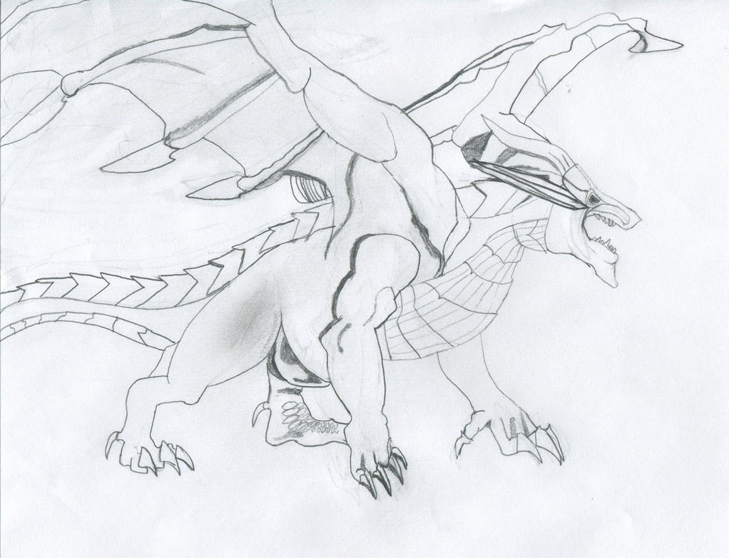 detailed dragon coloring pages - photo #42