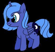 Filly Luna ,sketch Dram-Syral, by kyrospawn