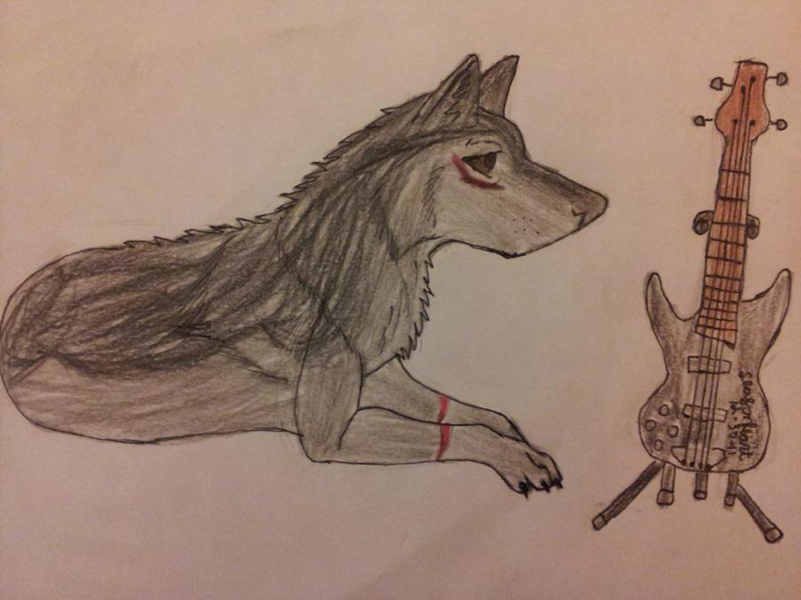 rockin wolf by wolf-star-studios