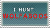 I Hunt Wolfaboos-stamp by LinZeldorf