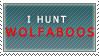 I Hunt Wolfaboos-stamp by LinZeldorf